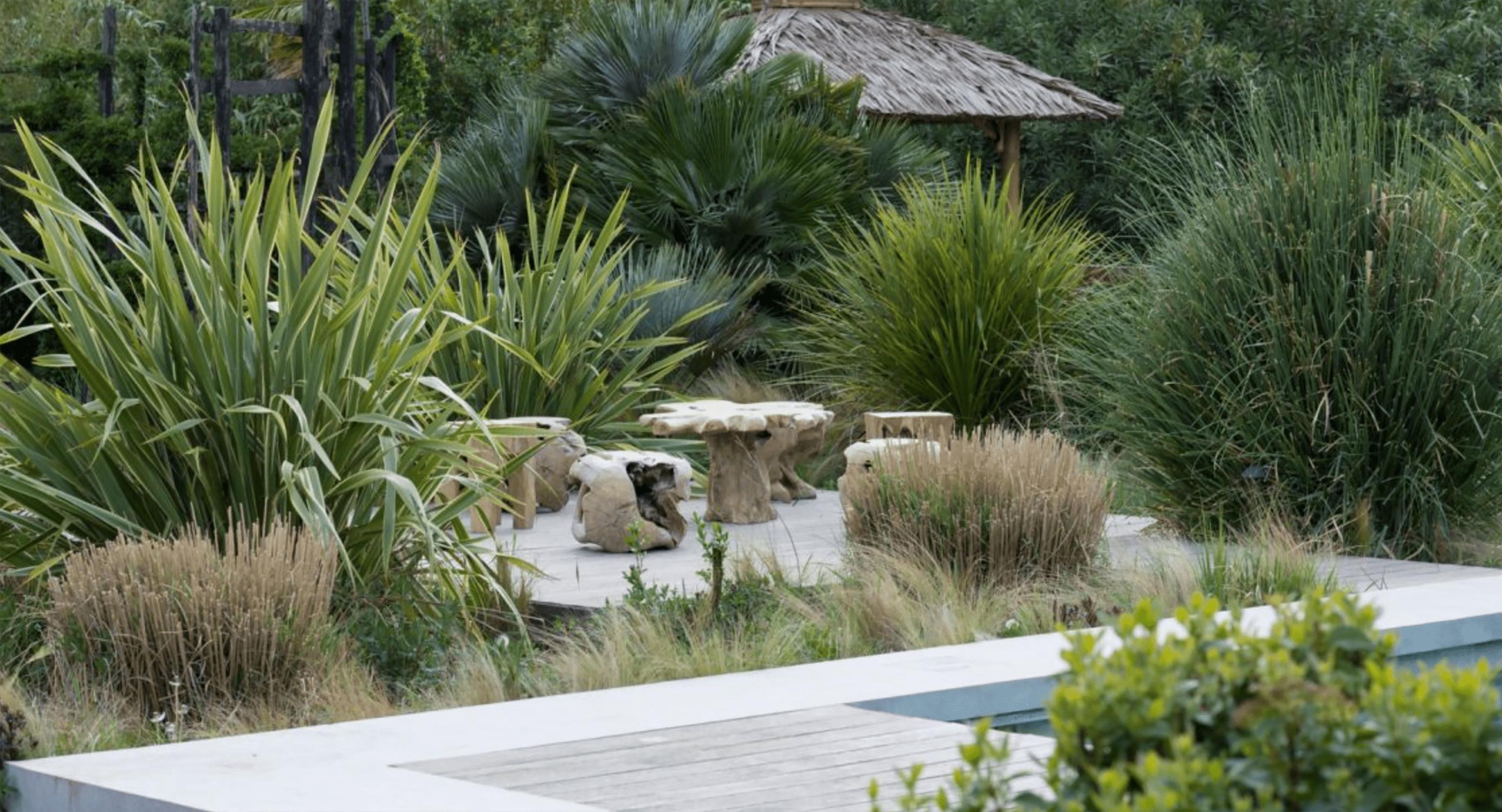Les Confines African Grass Garden