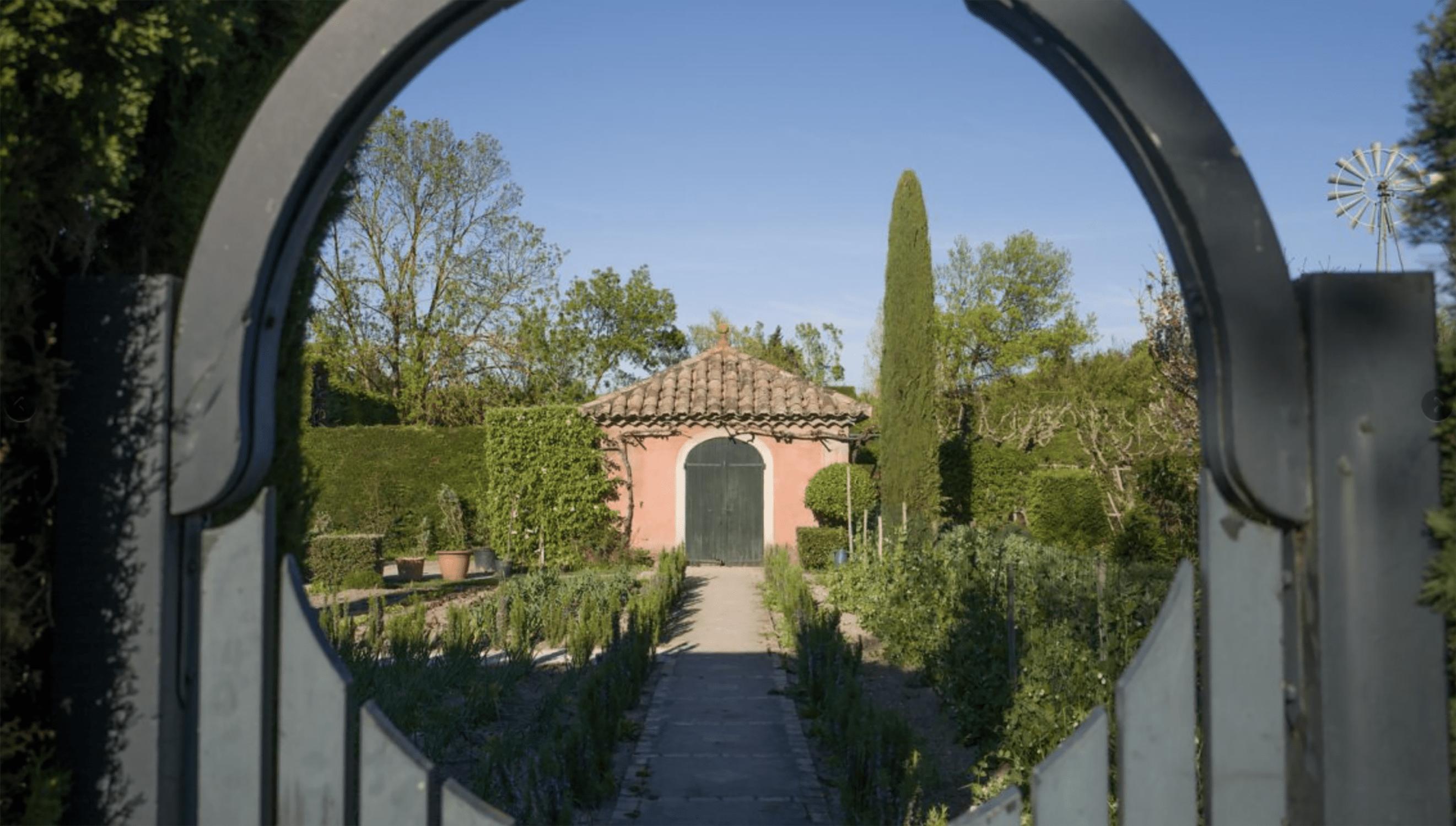 The Kitchen Garden at Les Confines