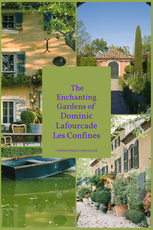 les confines french garden of dominique lafourcade
