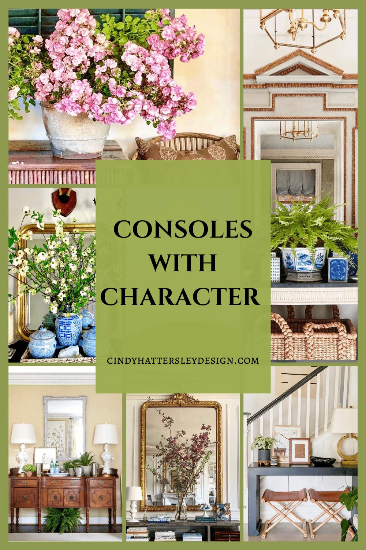 consoles with character consoles with character