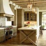 Rough Luxe Kitchen Islands