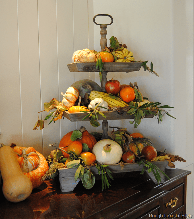 Fall Decor Ideas Canadian Bloggers Home Tour: Berries And Branches Home Tour Fall Decorating Ideas
