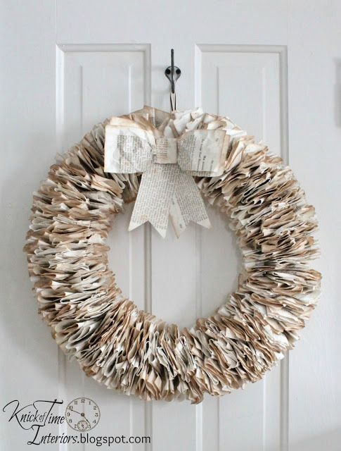 10 beautiful diy book page christmas decorations you can make yourself cindy hattersley design