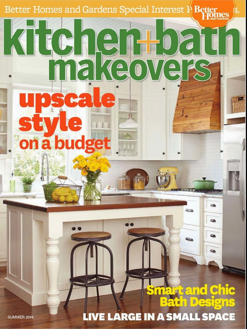 Bathroom Makeover Magazine better homes and gardens kitchen and bath makeovers our kitchen