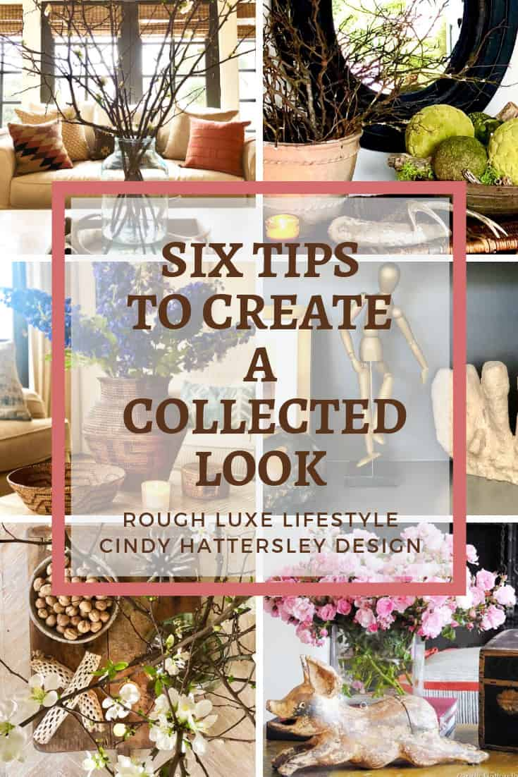 the collected look how to get it