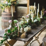 Last Minute Rough Luxe Holiday Tablescape Inspiration