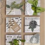 10 Stylish Wrapping Ideas Using Newspaper