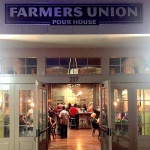 Farmers Union Pour House is Up and Running