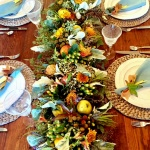 My Thanksgiving Tables and What I Wore from Artful Home