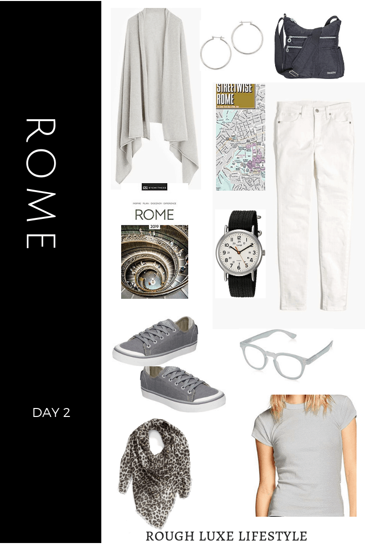How to Rock an over 50 Travel Wardrobe Rome Day 1