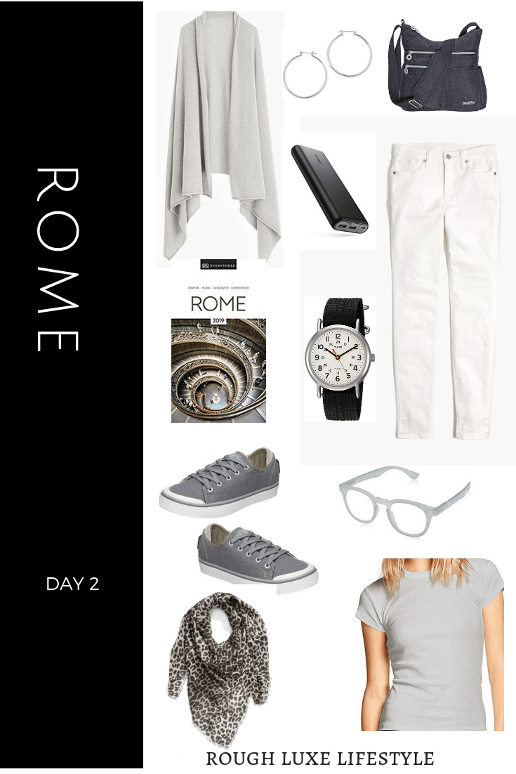How to Rock an Over 50 Travel Wardrobe Rome Day 2