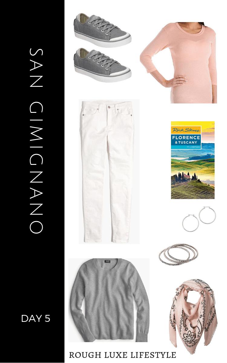 How to Rock an Over 50 Travel Wardrobe SAN GIMIGNANO DAY 5