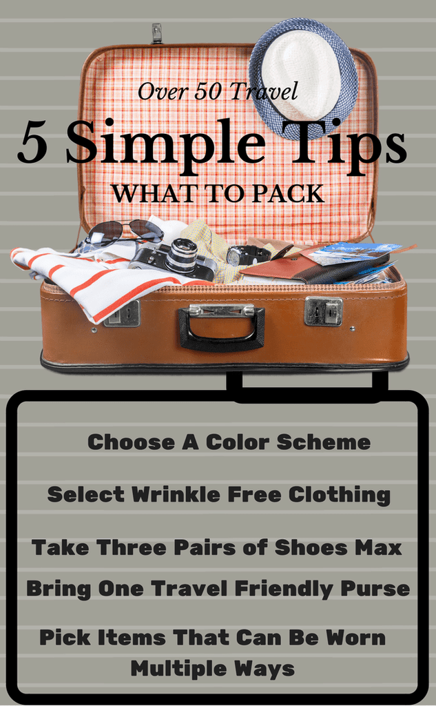 5 simple tips what to pack