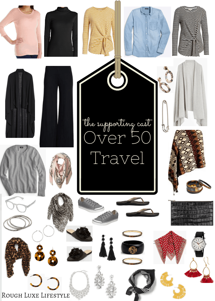 How to Rock an Over 50 Travel Wardrobe the Supporting Cast
