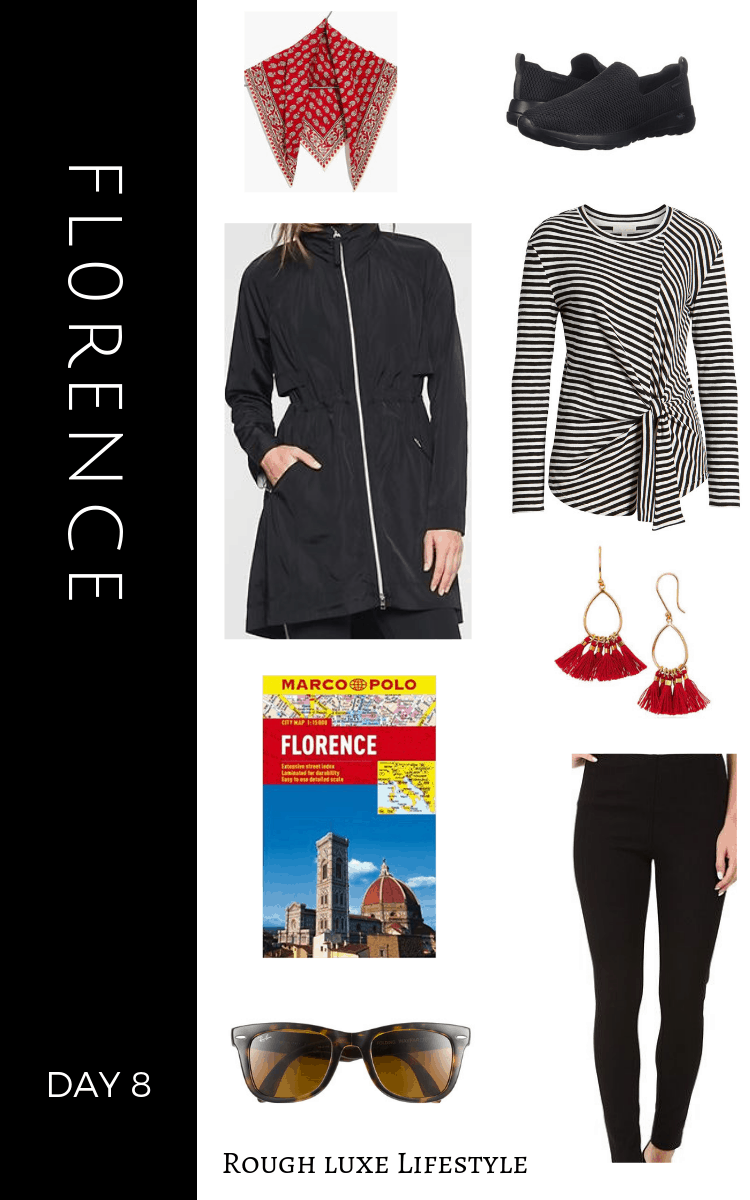 How to Rock an Over 50 travel wardrobe florence day 8