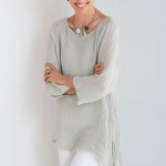 Over 50 Fashion; One Tunic Two Ways