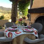 Summer Entertaining – Simple Poolside Dinner