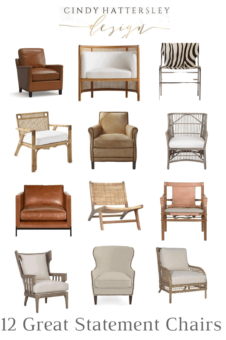 Statement Chairs Where to Find Them and How to Use Them