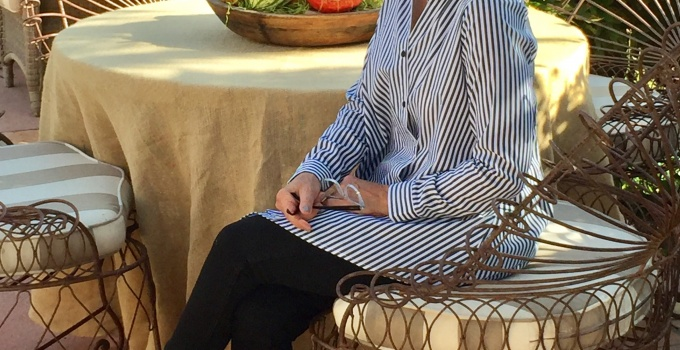 The Bristol Shirt for Artful Home and Monterey Wine Country Beauty