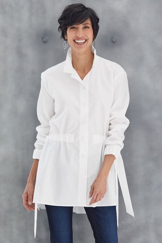 A Great White Shirt from Artful Home and Beauty Products  for Mature Skin