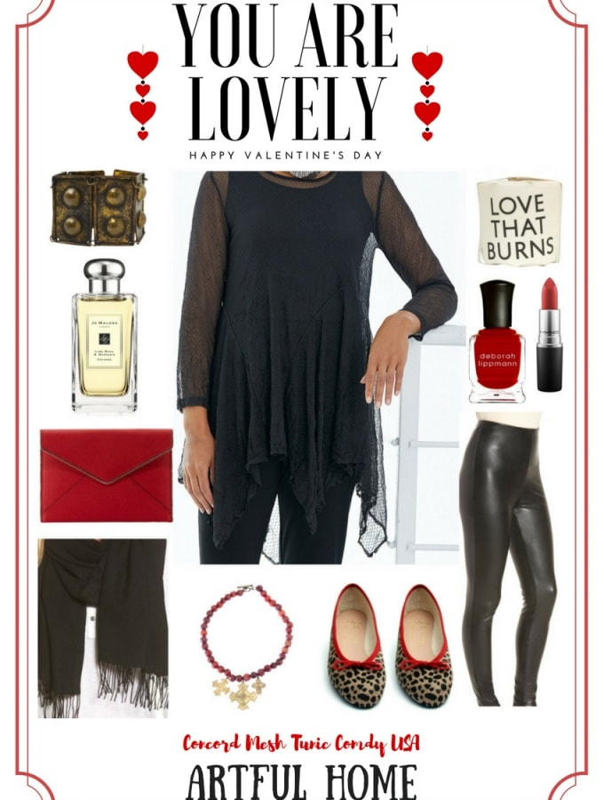 Valentines Wisdom & a Great Tunic from Artful Home