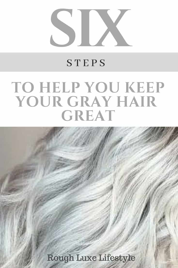 how to keep your gray hair great