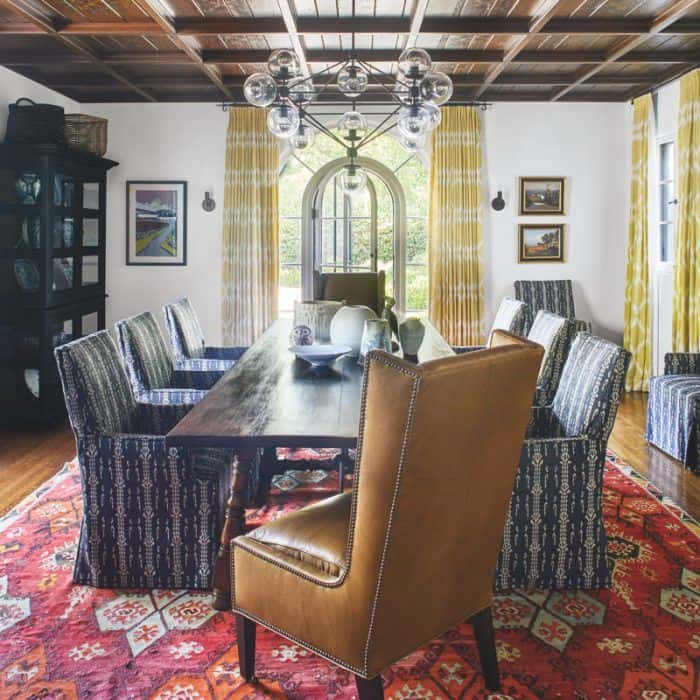 spanish colonial dining room