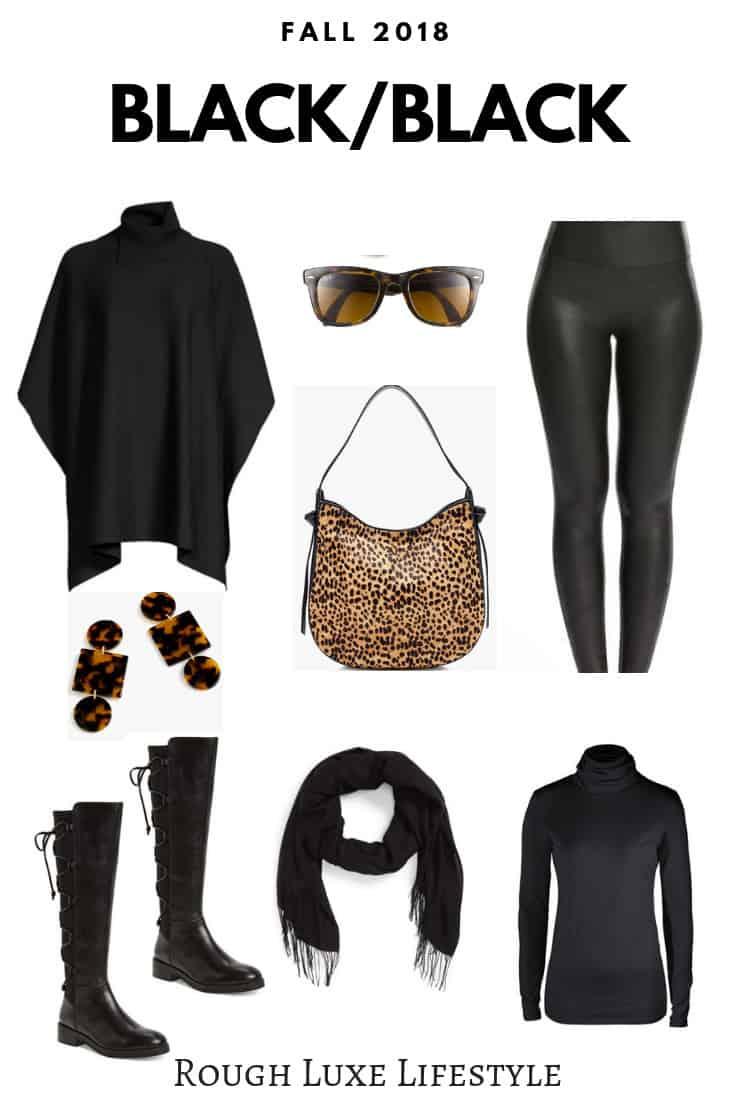 black classic fall clothing
