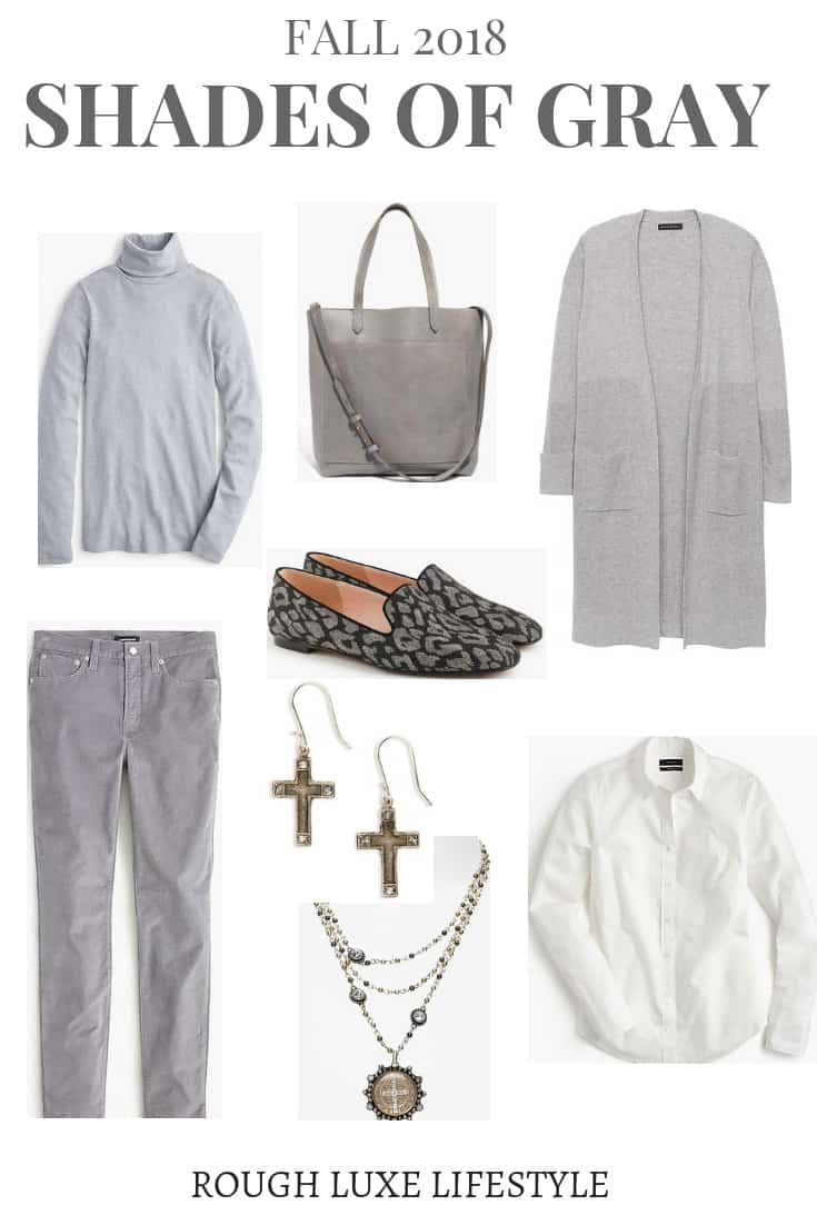 gray fashion finds