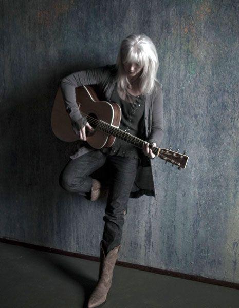 emmy lou harris in all gray