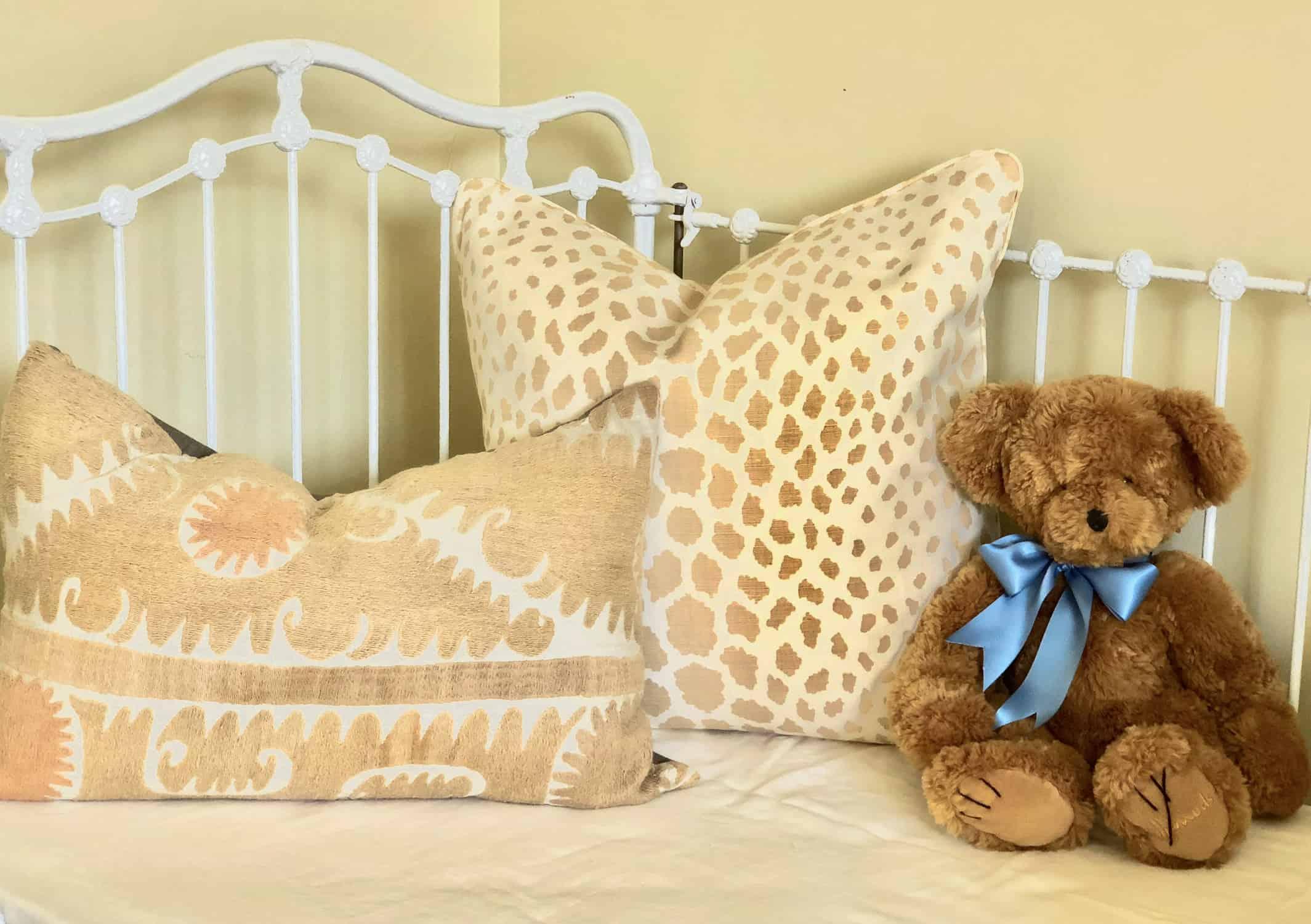 pillow and bear