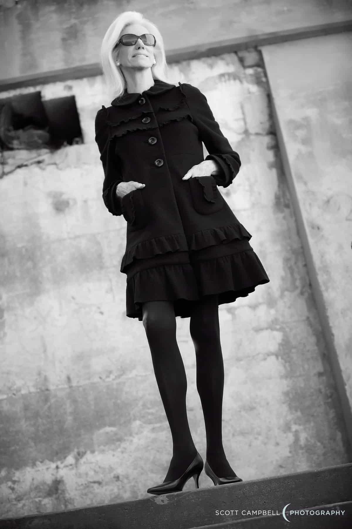 valerie ramsey black suit