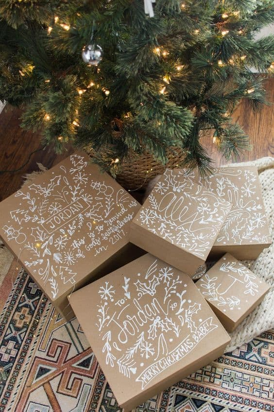 20 clever gift wrap ideas using brown paper