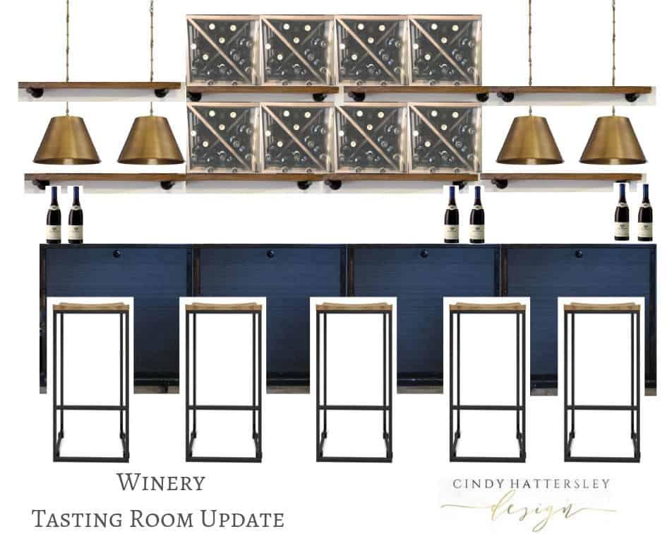 morgan winery tasting room update