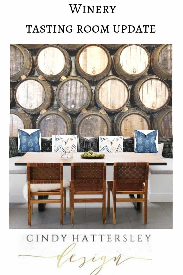 tasting room inspiration board