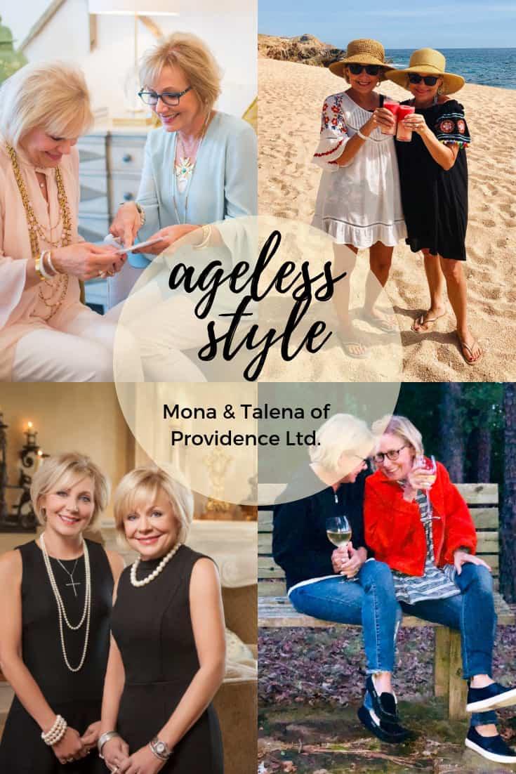 ageless style mona and talesa