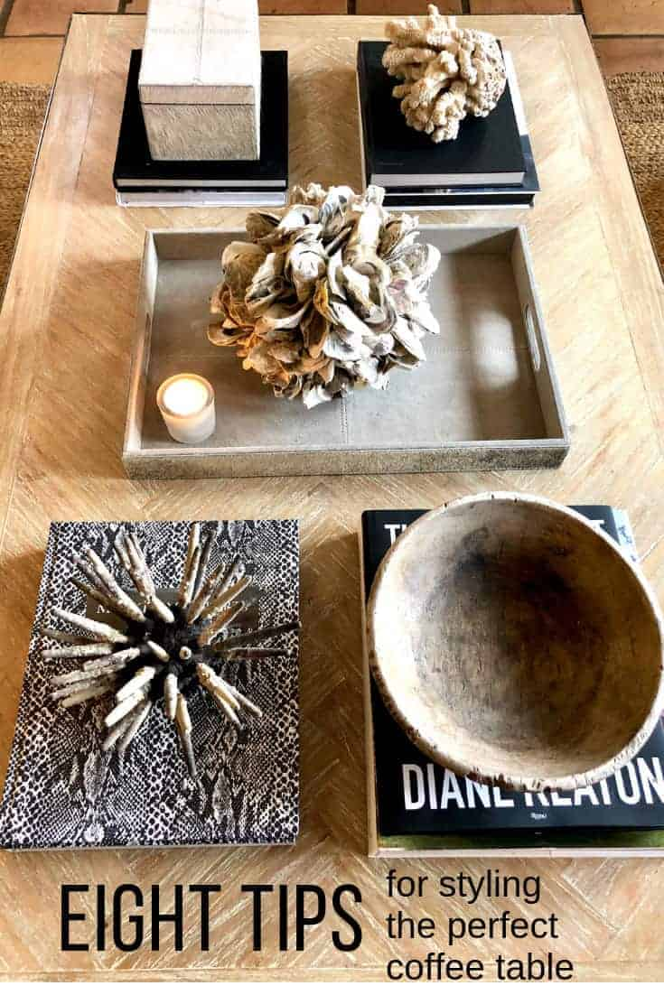eight tips for styling the perfect coffee table