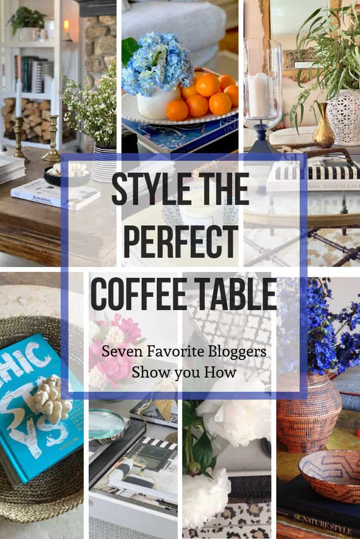 seven bloggers coffee tables