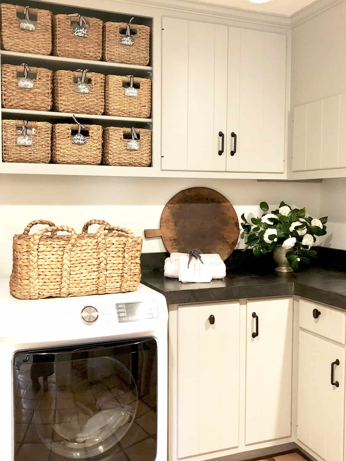 seven inexpensive ways I updated my laundry room
