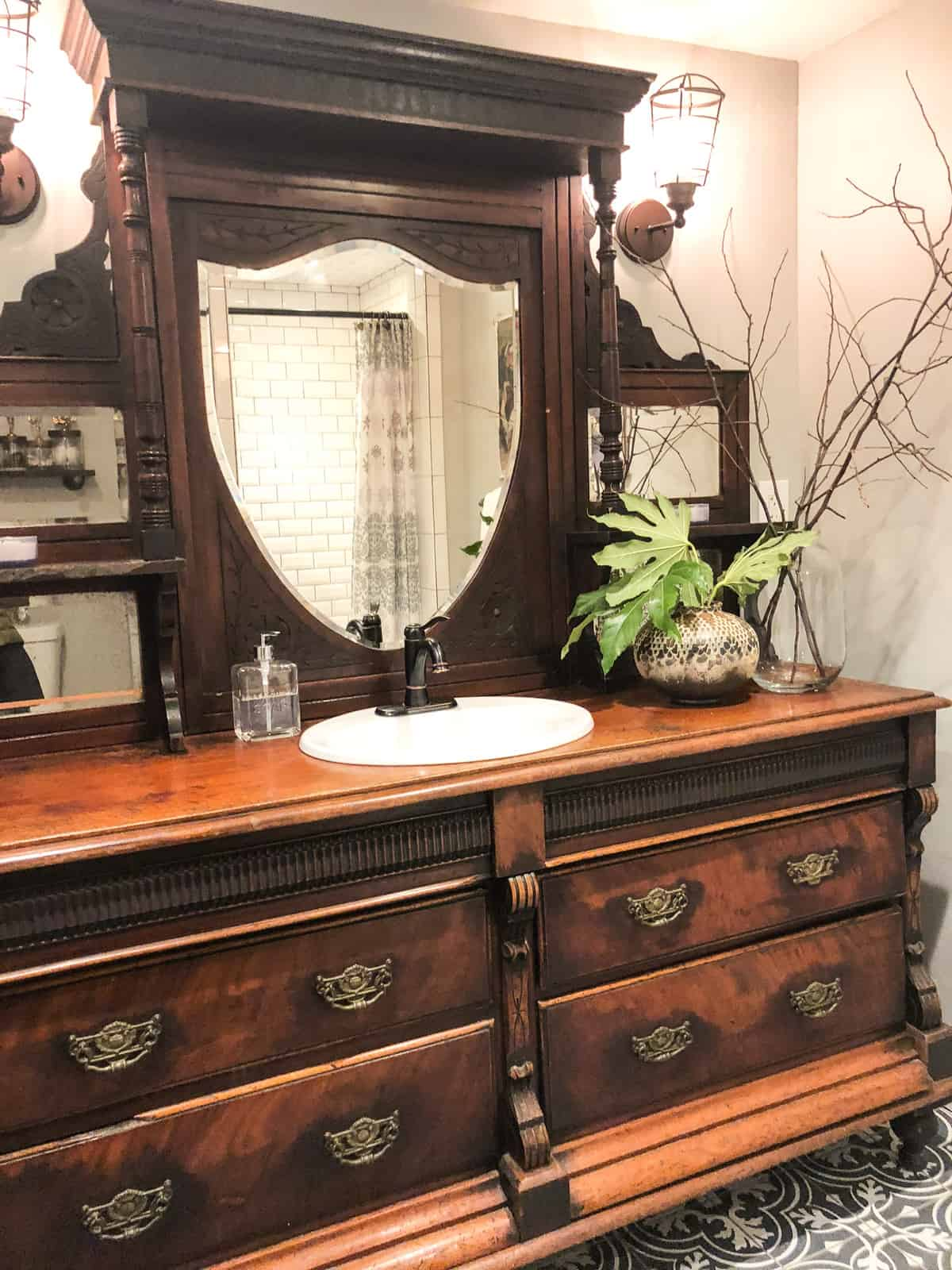 victorian vanity