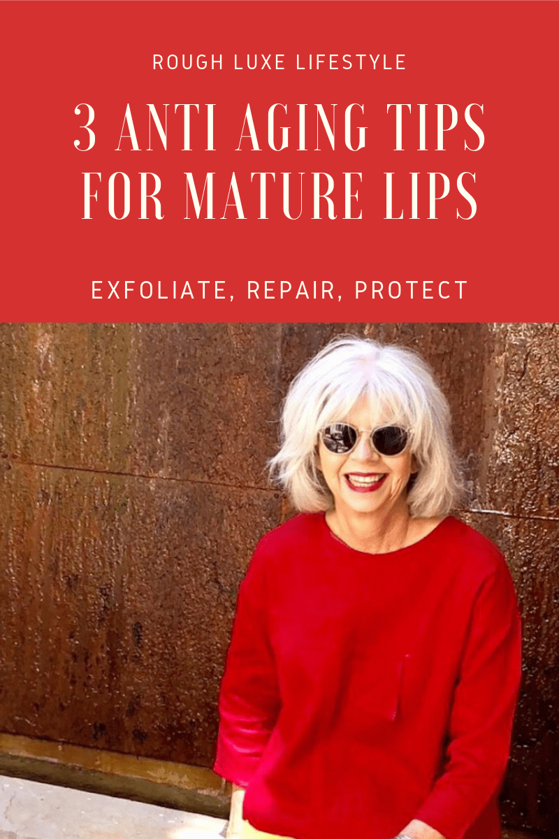 3 anti aging tips for mature lips