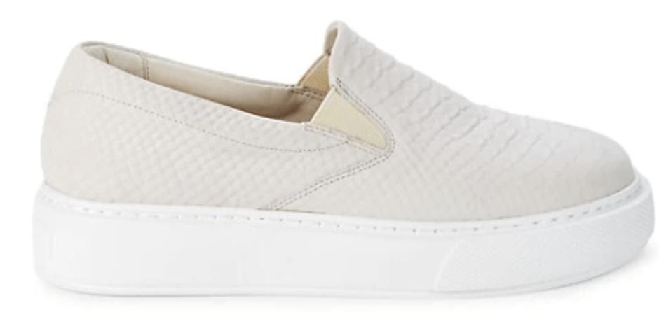 j slides delia low top sneaker