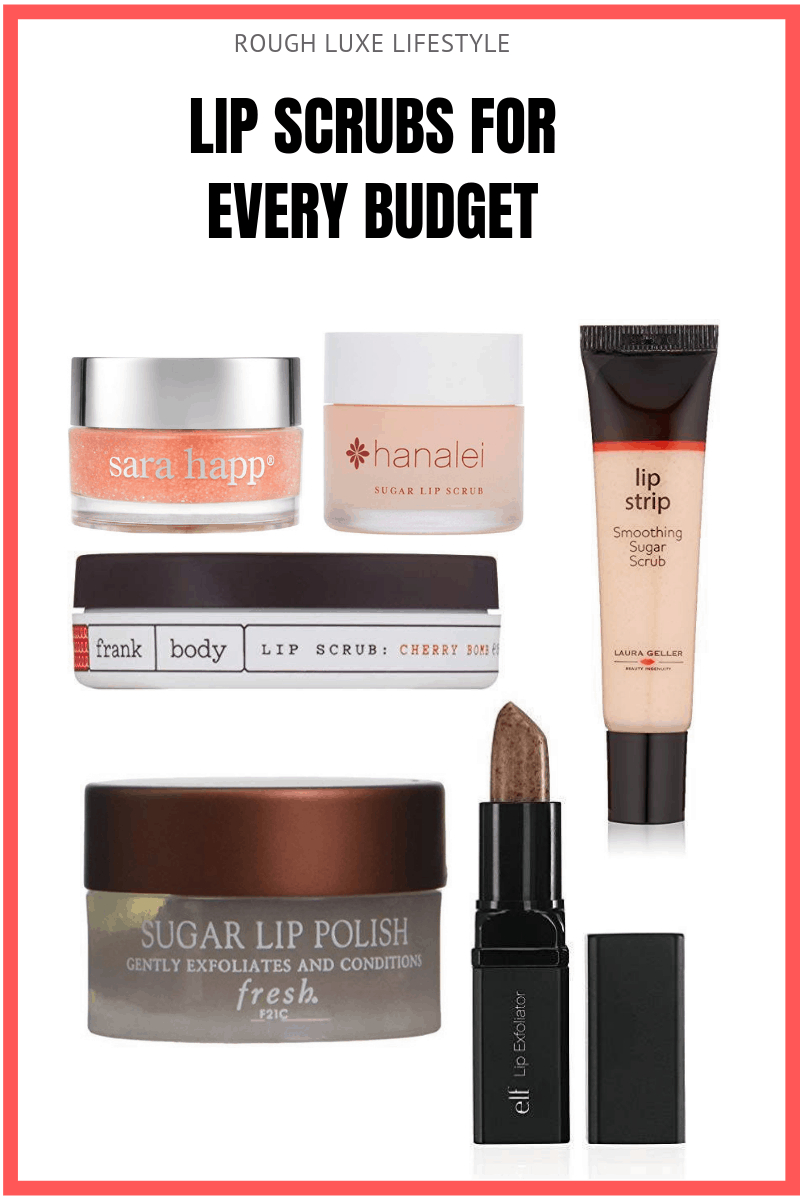 lip scrubs for every budget