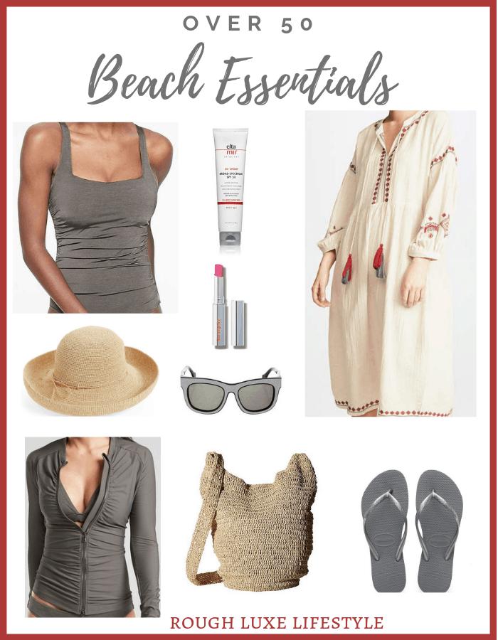 over 50 beach essentials