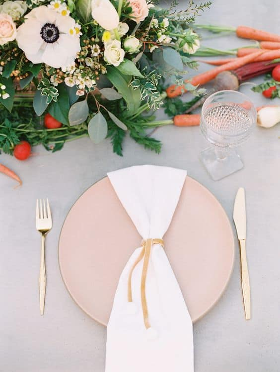 peter rabbit inspired tablescape