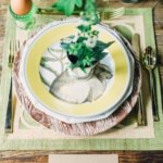 Pretty Spring Tablescapes and Stylish Easter Eggs