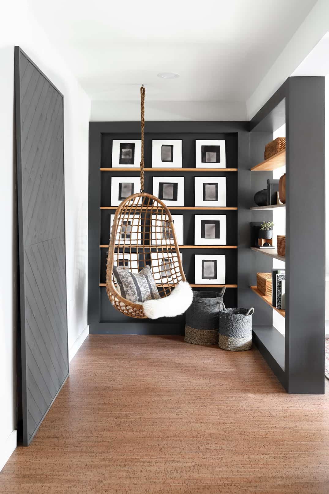 basement makeover one room challenge