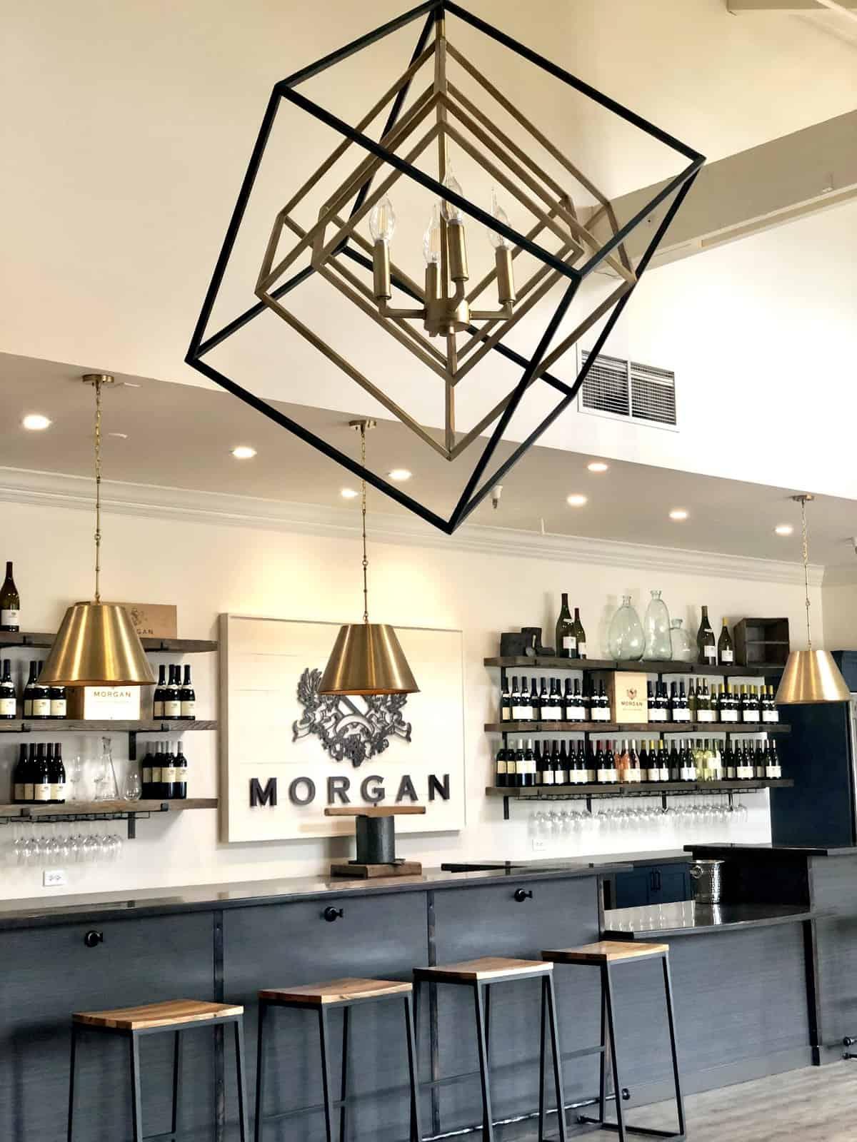 morgan winery tasting bar