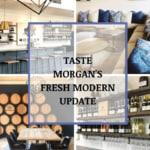 Morgan  Tasting Room's Fresh Modern Look