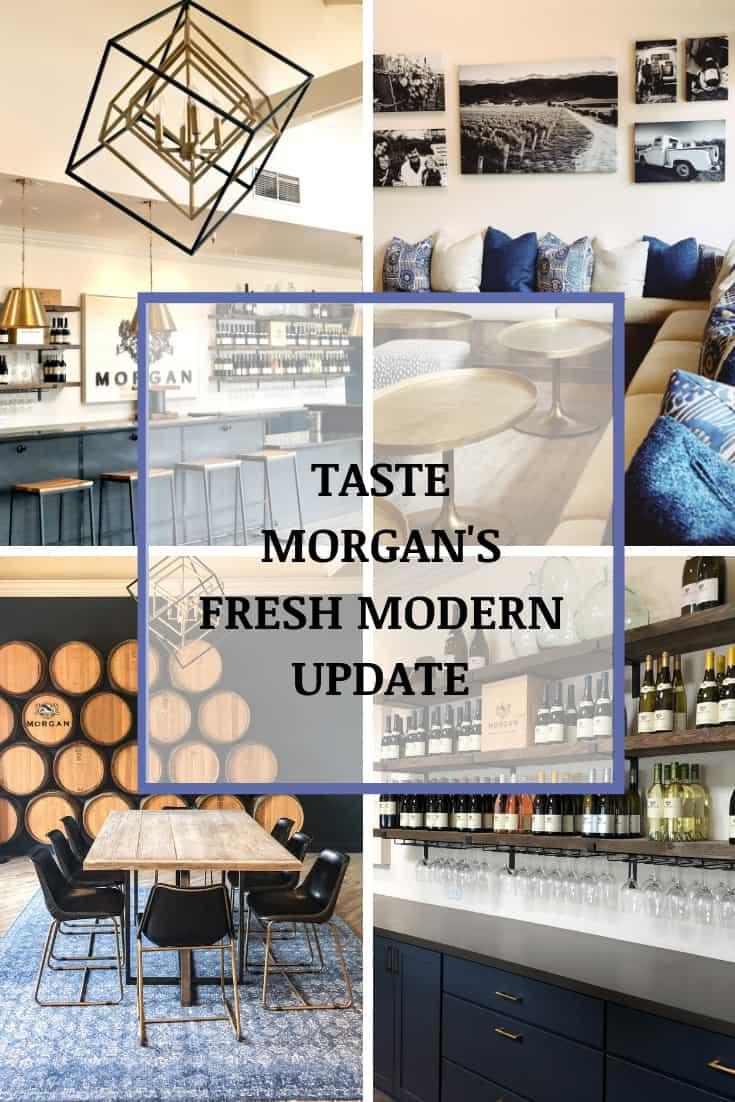 Morgan Winery's Fresh Modern Look